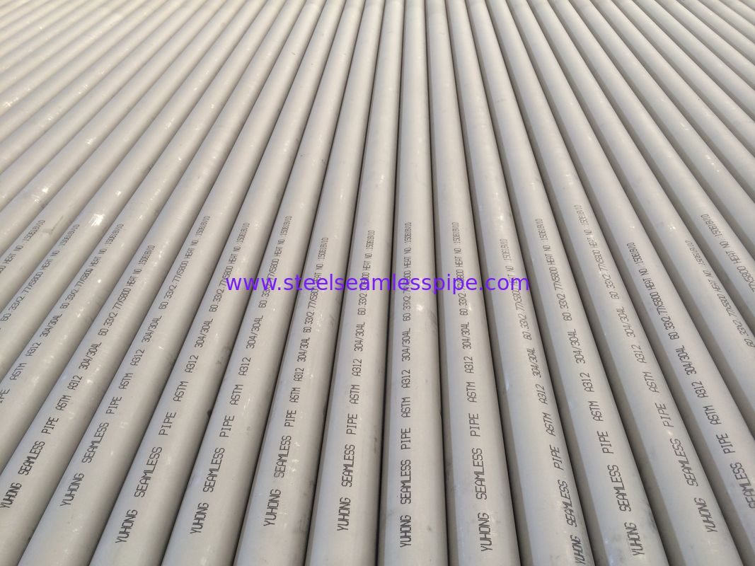 "ASTM A312 TP316 / 316L Stainless Steel Seamless Pipe, 1"" SCH40S 6M , B36.10 & 36.19, Eddy Current Test/ Hydrostatic Test"