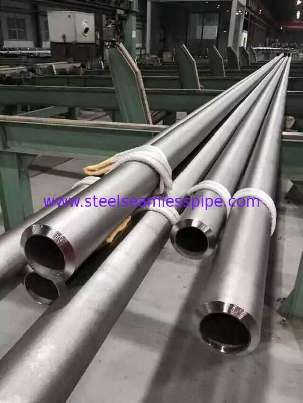 Anti - Corrosive Seamless Incoloy 825 Pipe Din 17458 2.4858 3 Inch SCH40S 6M