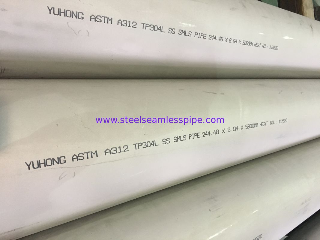 "Stainless Steel Seamless Pipe,ASTM A269, ASTM A312 / A312M, ASTM A511/A511M, 6"" SCH40"