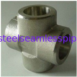 Cross Tee Forged Steel Fittings, ASTM B564 Nickel Alloy flangeolet , weldolet , reduce tee , elbow , cap , tee