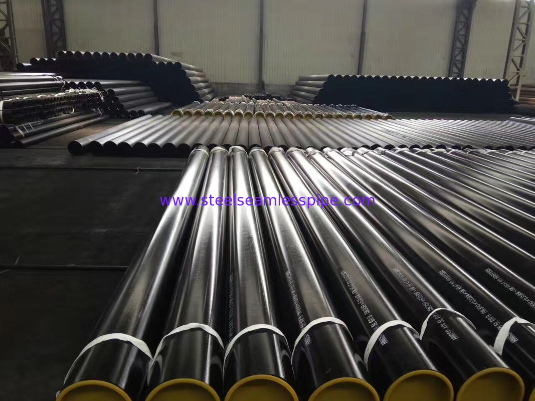 Structural Carbon Steel Seamless Pipe API 5L Standard 114.3 * 6.02 * 6000mm