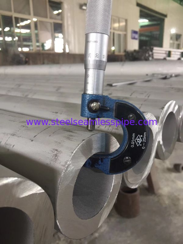Hollow Bar Stainless Steel Round Pipe ASTM A312 Heavy Wall Thickness 168.3X34MM