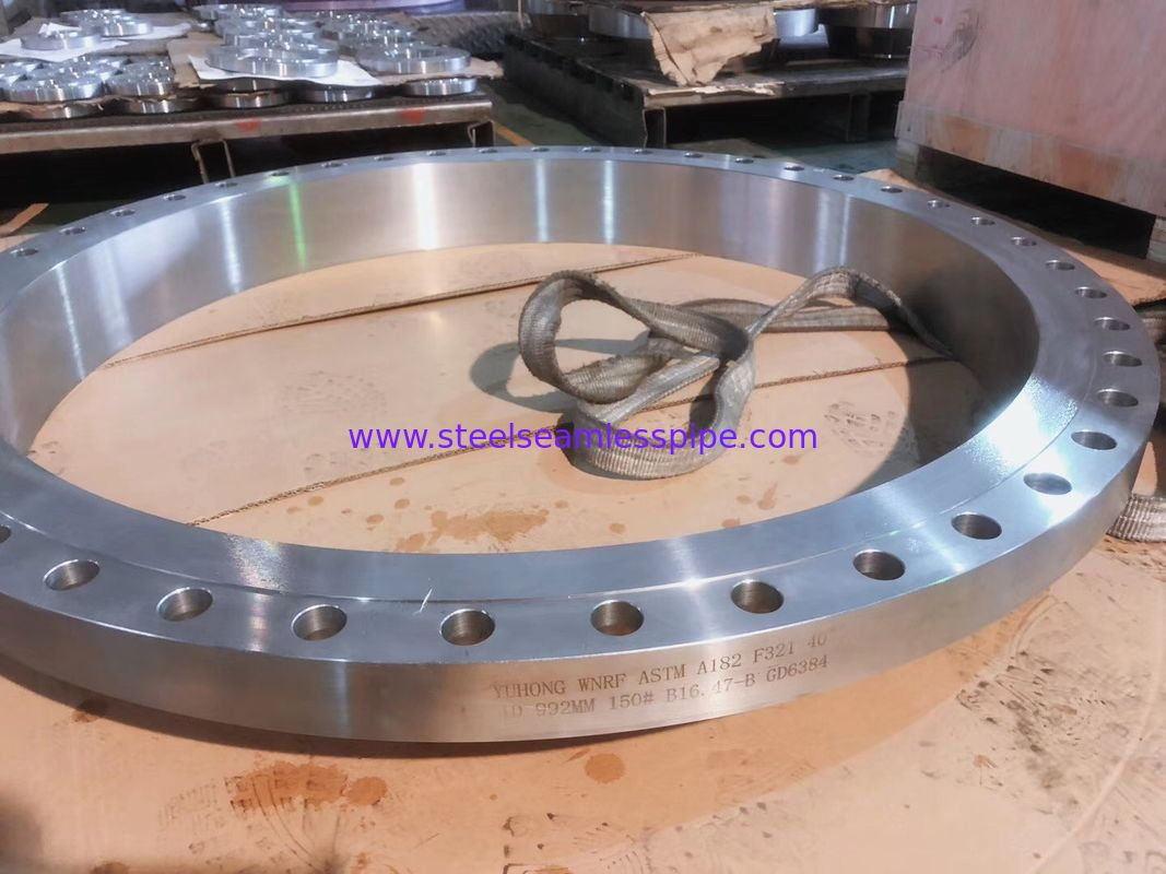 ASTM A182 Forged Stainless Steel Flanges ANSI B16.47 Seris A B 150# - 2500#