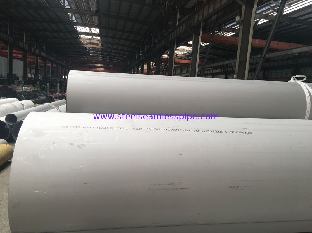 Chemical Industry Stainless Steel Welded Pipes A312 TP316 316L ASTM A312 / A312M - 18