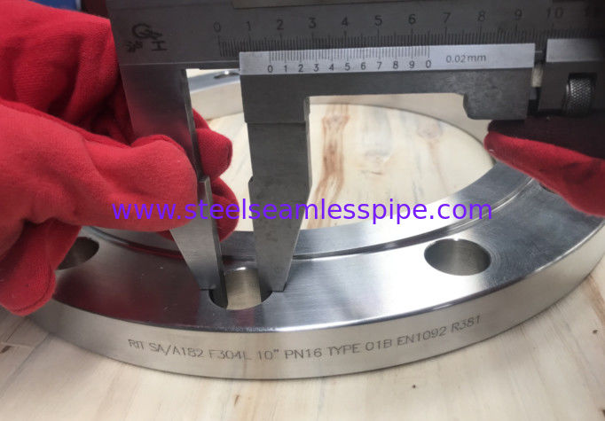 "Multiple Stainless Steel Forged Flange En1092 F304/304l 10"" Pn16 Type"